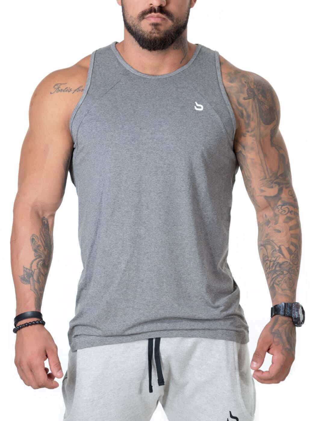 640535ebc13a1 Regatas Masculinas Fitness - barbell Brasil